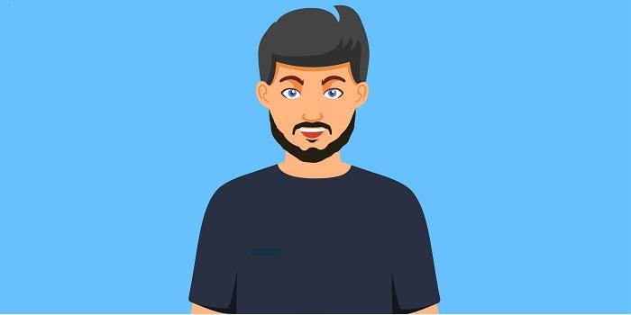 Bold Patchy Beard