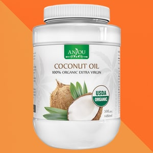anjou organic extra virgin coconut oil
